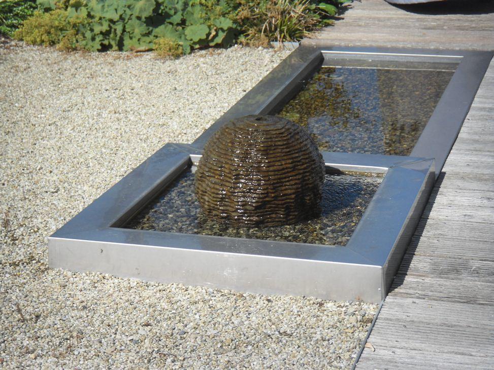 Stahl galabau richter glashaus - Wasserrinne edelstahl garten ...