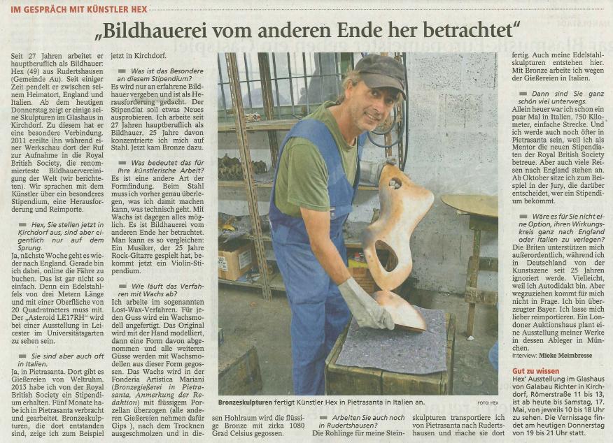 Tagblatt 15.5.14